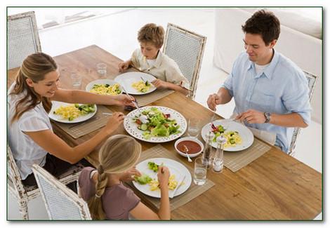 Прием здоровой пищи
