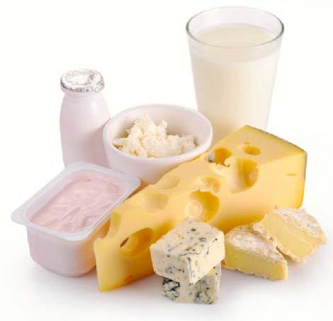 кальций молоко