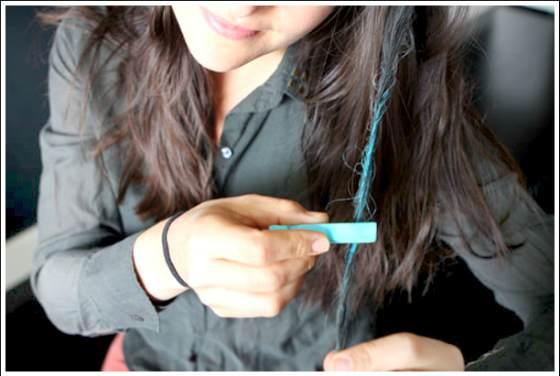 мелки для волос как красить