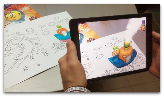 Живые 3d раскраски для детей