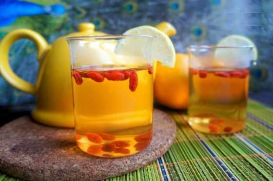 чай из ягоды годжи