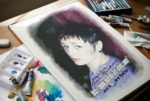 Разноцветные миры художника Марины Овчинниковой