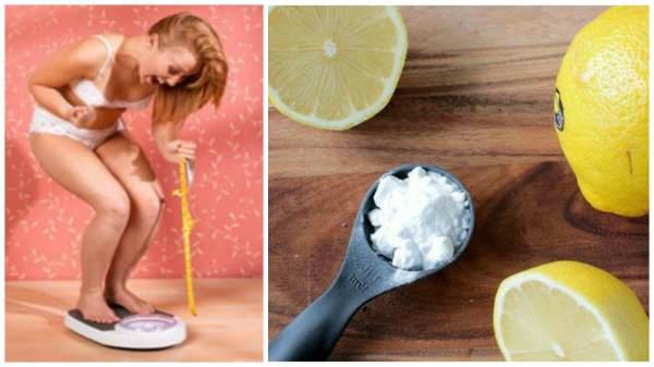 Как пить соду с лимоном чтобы похудеть