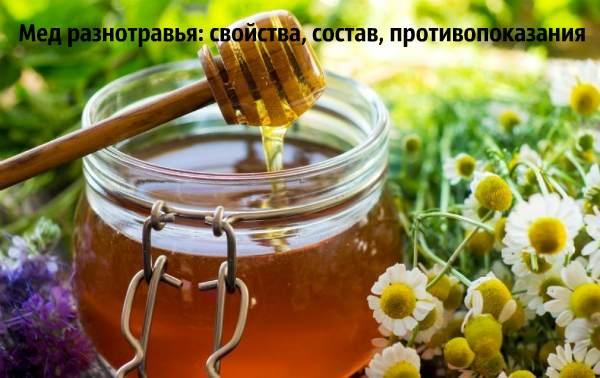 Какой он мед из разнотравья