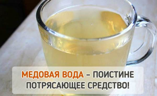 Чем полезна медовая вода