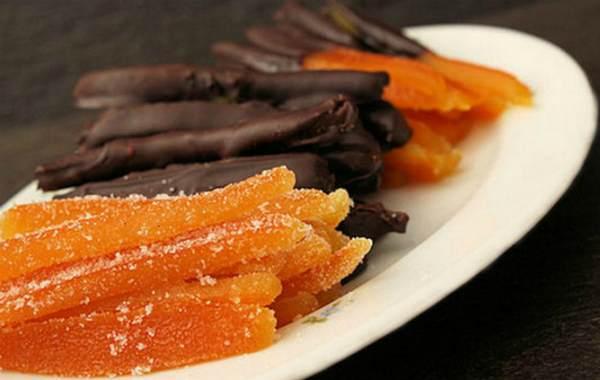 Цукаты из апельсиновых корок в домашних условиях: быстрый рецепт