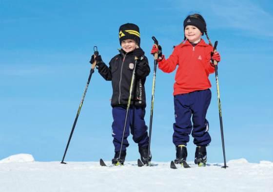 Как подобрать детские лыжи