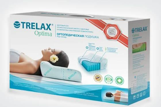 Ортопедическая подушка трелах