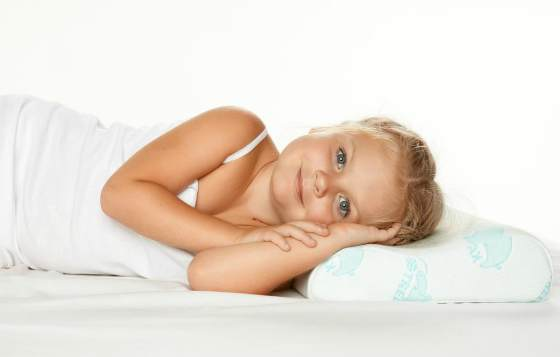 Ортопедическая подушка с эффектом памяти для детей