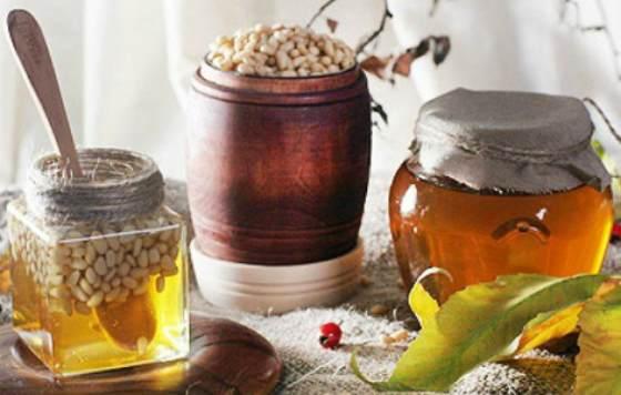 мед с кедром