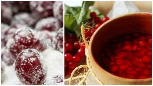 Заготовка калины на зиму, рецепты