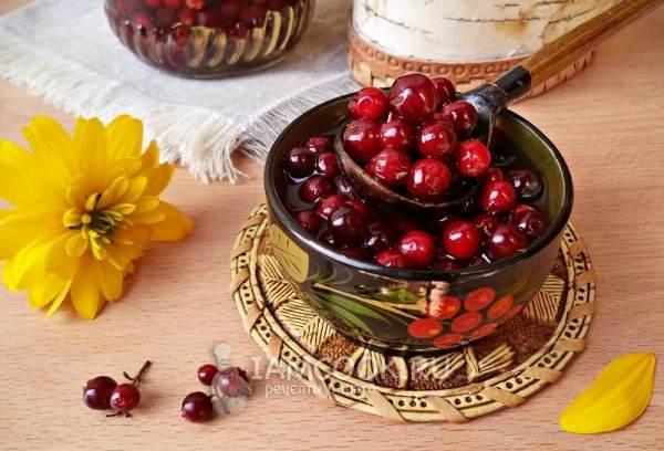 Рецепты и заготовки из моченой брусники